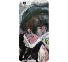 Coffee On The Go Acrylics On Paper iPhone Case/Skin