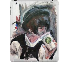 Coffee On The Go Acrylics On Paper iPad Case/Skin