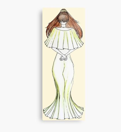 Flower Girl : Lily Metal Print