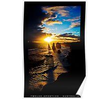 12 Apostles Great Ocean Road Poster