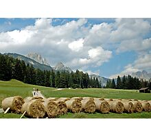 Countrylife in the Dolomites Photographic Print