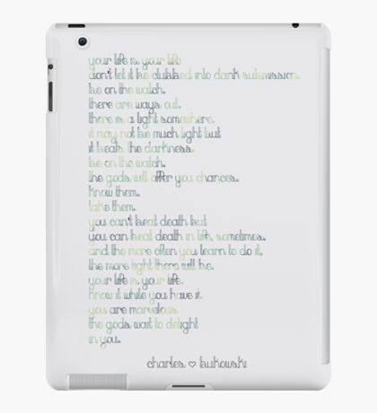 The Laughing Heart iPad Case/Skin