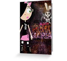 GATE STREET HIGH - Gloria Greeting Card