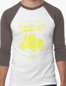 On the Green and Gold Bandwagon - Yellow Men's Baseball ¾ T-Shirt