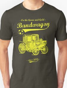 On the Green and Gold Bandwagon - Yellow T-Shirt