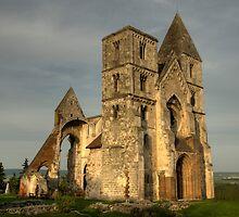 Ruin Church II by Béla Török