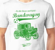 On the Green and Gold Bandwagon - Green Unisex T-Shirt