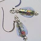 Delicate Lampwork Earrings by Erica Long