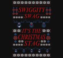 SWIGGITY SWAG, IT'S THE NIGHTMARE STAG! -  ugly christmas sweater Long Sleeve T-Shirt