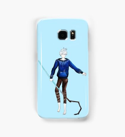 Jack Frost in the air (Rise of the Guardians) Samsung Galaxy Case/Skin