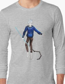 Jack Frost in the air (Rise of the Guardians) Long Sleeve T-Shirt