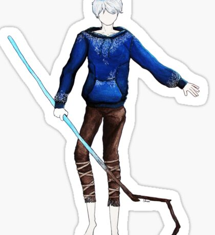 Jack Frost in the air (Rise of the Guardians) Sticker