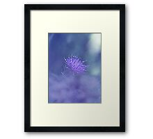 Beyond The Clouds.... Framed Print