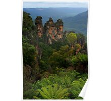 The Three Sisters, Katoomba. Poster