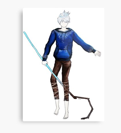 Jack Frost in the air (Rise of the Guardians) Metal Print