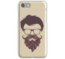 Man Hair Style iPhone Case/Skin