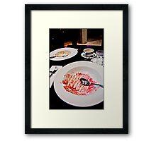 What's For Dessert? Framed Print