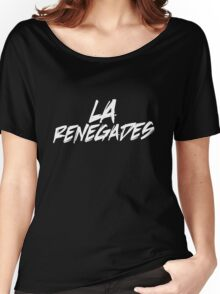 LA Renegades White Women's Relaxed Fit T-Shirt