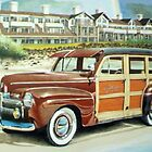 Ocean Lodge Woody Wagon by brianrolandart