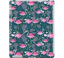 pattern with flamingos  iPad Case/Skin