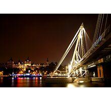 millenium bridge Photographic Print