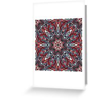 Psychedelic  ornament Greeting Card
