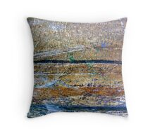 Trouble at Sea Throw Pillow