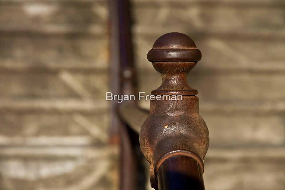 Well Worn - Sydney Harbour Stairs by Bryan Freeman