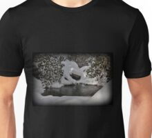 Oasis In Mountain Snow Unisex T-Shirt