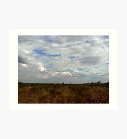 Northern Territory Clouds Art Print