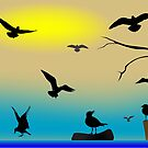 Birds paradise by Laschon Robert Paul