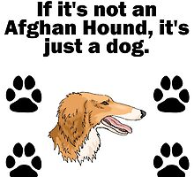 If It's Not An Afghan Hound by GiftIdea