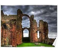 Lindisfarne Priory (HDR) Poster