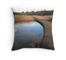 Greenfield Wetlands Throw Pillow