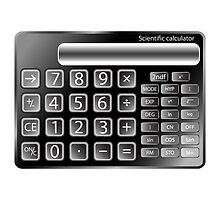Black calculator by Laschon Robert Paul
