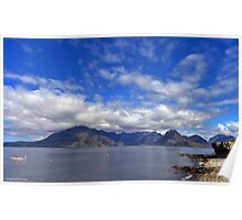 Elgol View Poster