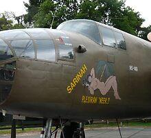North American B-25 02 by angeljootje