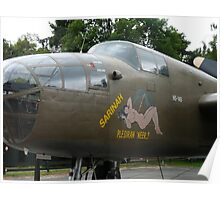 North American B-25 02 Poster