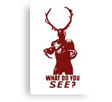 What do You see? (Wendigo) Canvas Print
