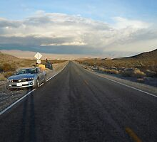 over a camaro, in Nevada... by hanie