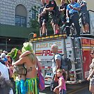 FDNY & Mermaids by Bernadette Claffey