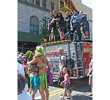 FDNY & Mermaids Photographic Print