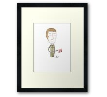 Doctor Who - Bang Bang Framed Print