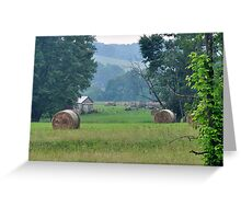 Rural Farm Scene- Rockbridge, Ohio Greeting Card