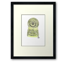 Doctor Who - Alpha Centauri Framed Print