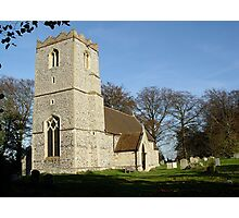 The Old Church in Suffolf 7 Photographic Print