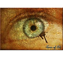 Tears of Oil Photographic Print