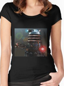 Dalek Punk Women's Fitted Scoop T-Shirt