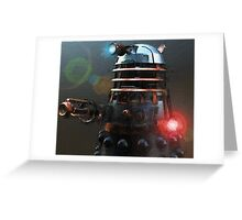 Dalek Punk Greeting Card