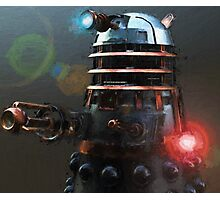 Dalek Punk Photographic Print
